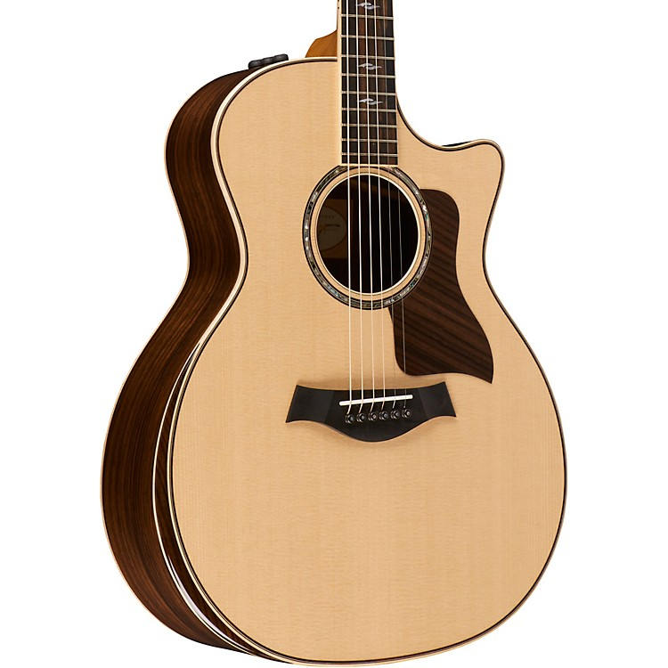 Taylor 800 Deluxe Series 814ce DLX Grand Auditorium Acoustic-Electric Guitar Natural
