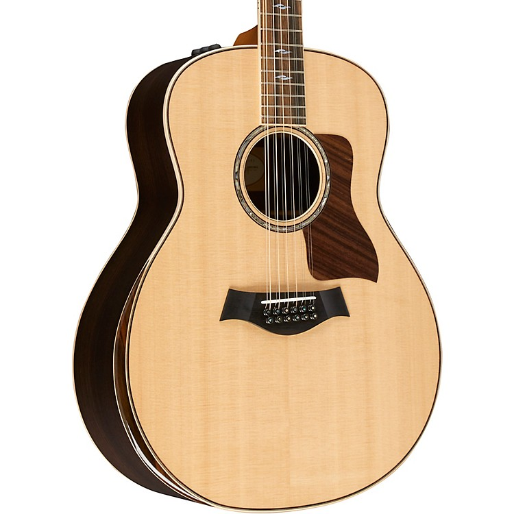 Taylor800 Deluxe Series 858e DLX Grand Orchestra Acoustic-Electric GuitarNatural