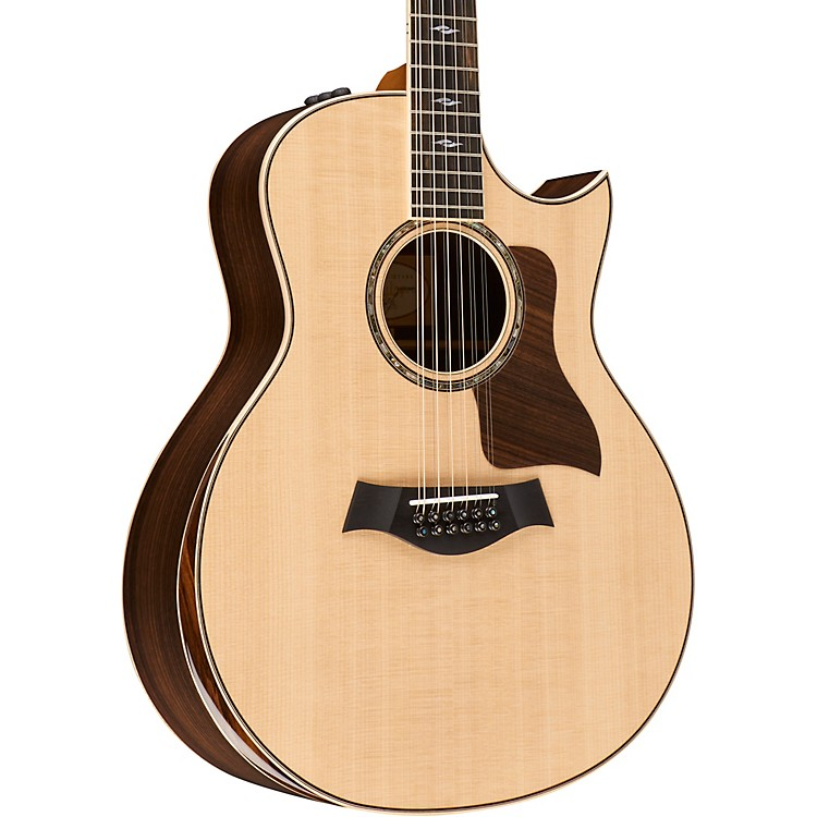 Taylor800 Series 856ce 12-String Grand Symphony Acoustic-Electric GuitarNatural