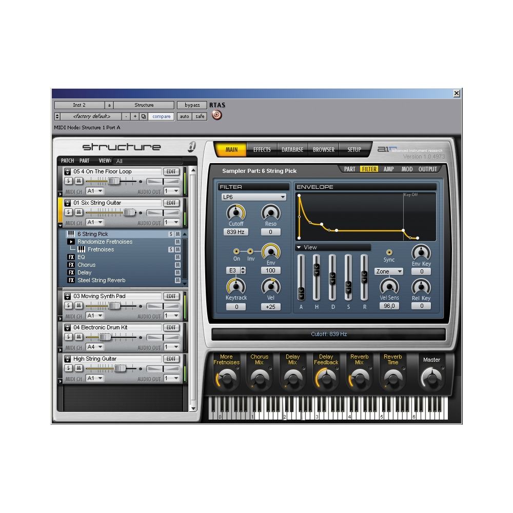 Digidesign-Structure-LE-Sampler-Virtual-Instrument