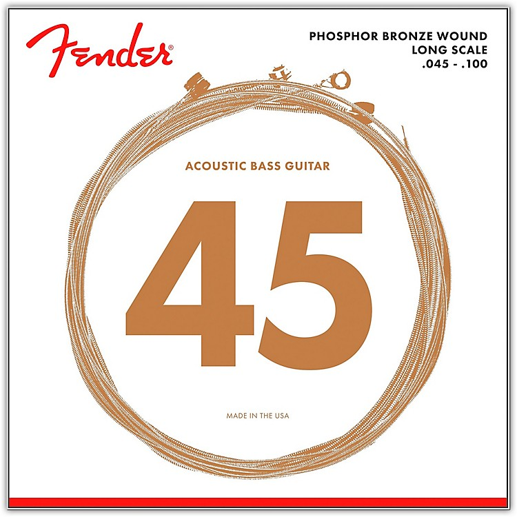 Fender8060 PHOSPHOR BRONZE ACOUSTIC BASS STRINGS
