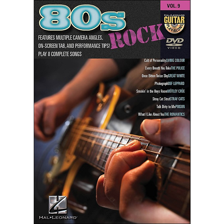 Hal Leonard80S Rock - Guitar Play-Along DVD Volume 9