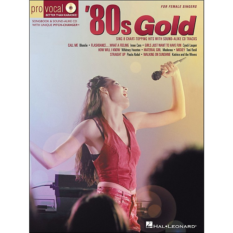 Hal Leonard 80s Gold - Pro Vocal Series for Female Singers Book/CD Volume 4