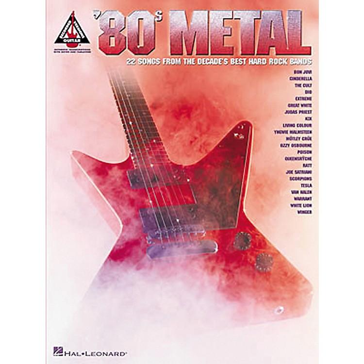 Hal Leonard80s Metal Guitar Tab Songbook