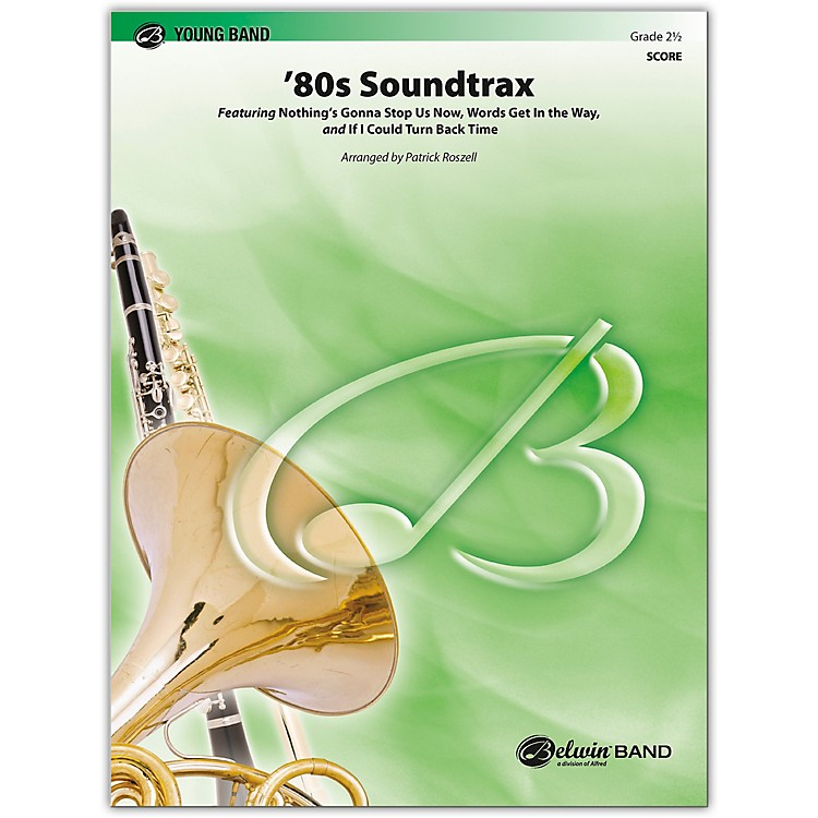 BELWIN80s Soundtrax Conductor Score 2.5 (Easy to Medium Easy)
