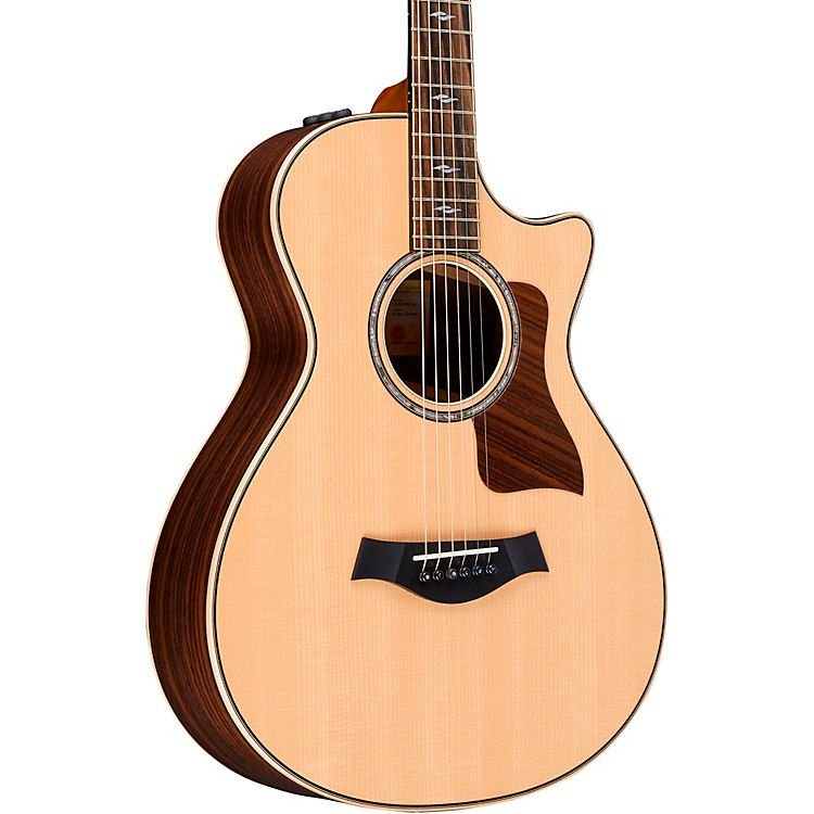 Taylor812ce 12-Fret Grand Concert V-Class Acoustic-Electric GuitarNatural