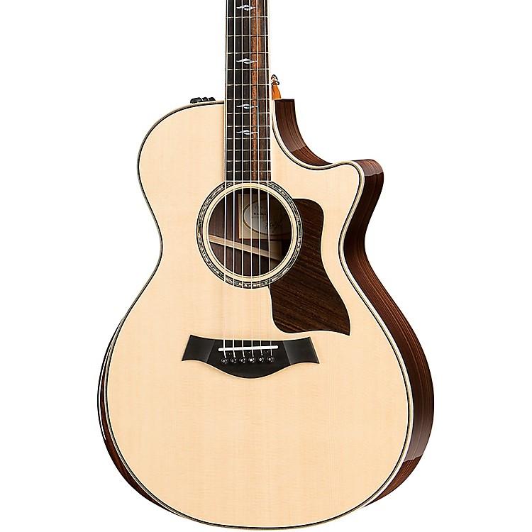 Taylor812ce DLX V-Class Grand Concert Acoustic-Electric GuitarNatural