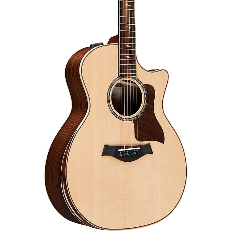 Taylor 814ce DLX V-Class Grand Auditorium Acoustic-Electric Guitar Natural