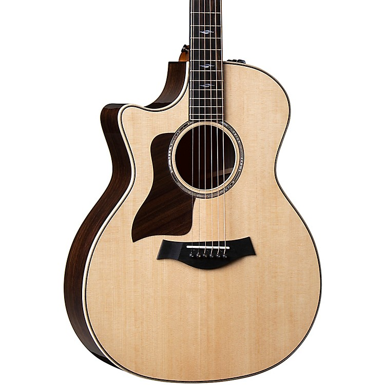 Taylor814ce Grand Auditorium Left-Handed Acoustic-Electric GuitarNatural