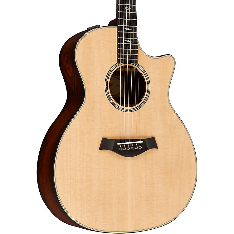 Taylor814ce Limited Edition Grand Auditorium Acoustic-Electric GuitarShaded Edge Burst