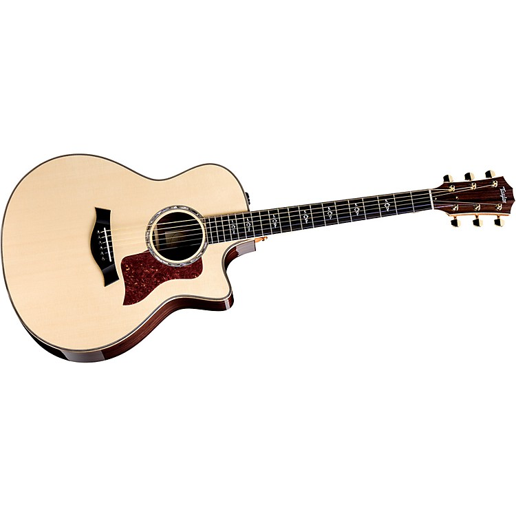 Taylor 816ce-L Rosewood/Spruce Grand Symphony Left-Handed Acoustic-Electric Guitar