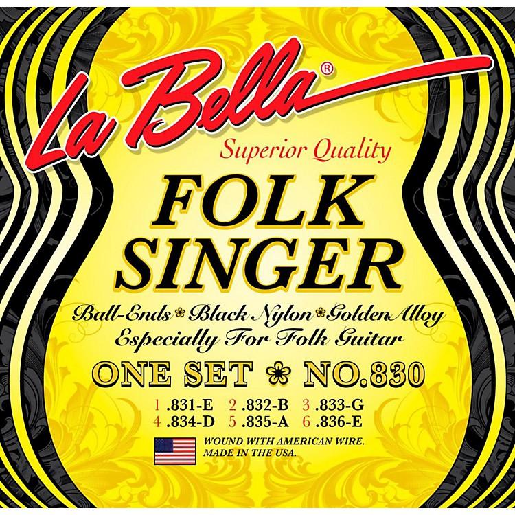 LaBella830 Folksinger Nylon Guitar Strings