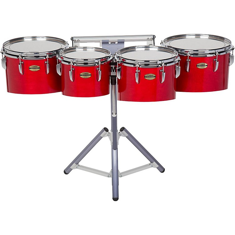 Yamaha8300 Series Field-Corp Series Marching Tenor Quad10, 12, 13 and 14 in.Red Forest