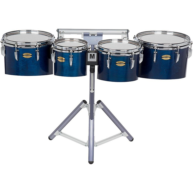 Yamaha 8300 Series Field-Corp Series Marching Tenor Quad 10, 12, 13 and 14 in. Red Forest