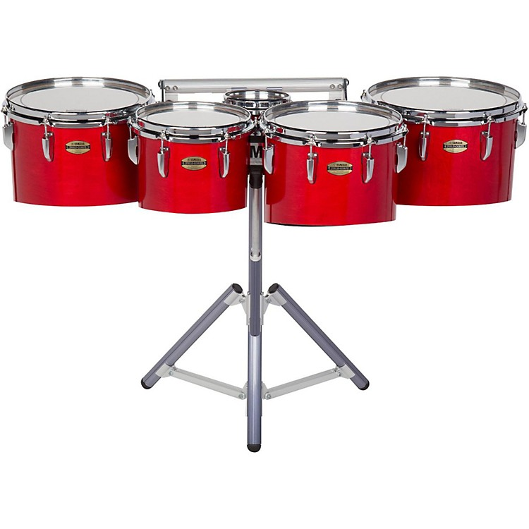Yamaha8300 Series Field-Corp Series Marching Tenor Quint6/10/12/13/14 in.Red Forest