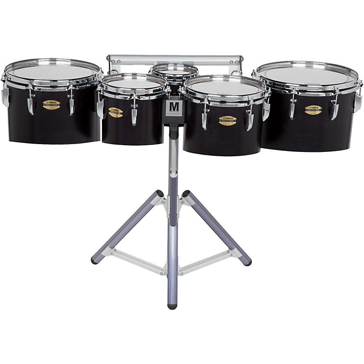 Yamaha 8300 Series Field-Corp Series Marching Tenor Quint 6, 8, 10, 12, 13 in. Black Forest