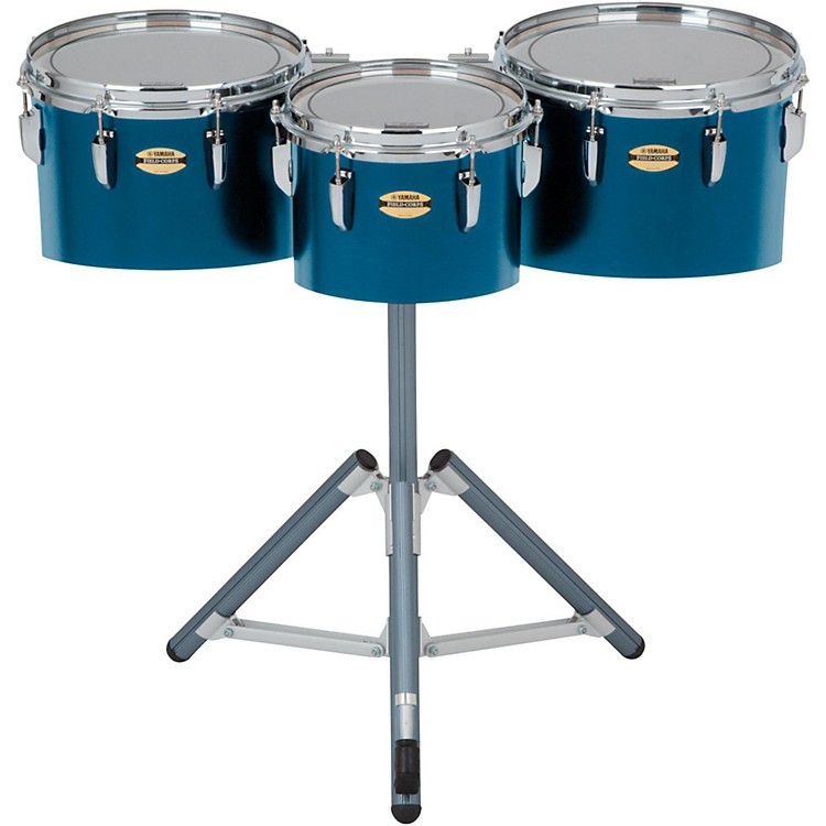 Yamaha 8300 Series Field-Corp Series Marching Tenor Trio 10, 12, 13 in. Blue Forest