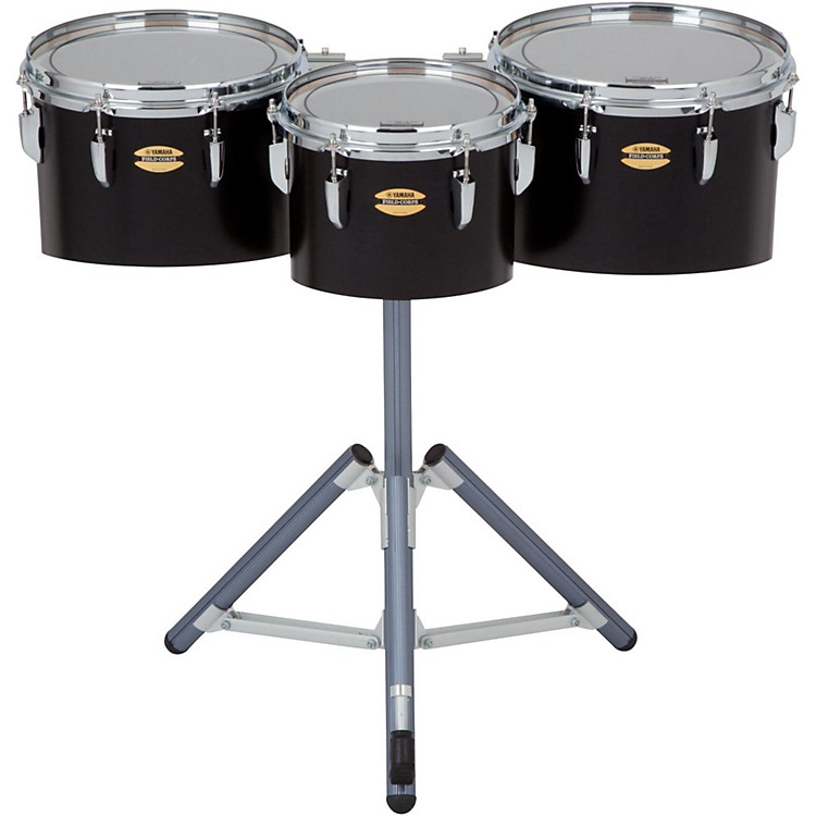 Yamaha8300 Series Field-Corp Series Marching Tenor Trio10, 12 and 13 in.Black Forest