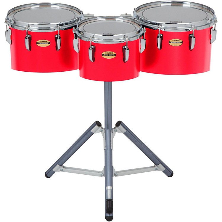 Yamaha8300 Series Field-Corp Series Marching Tenor Trio10, 12 and 13 in.Red Forest