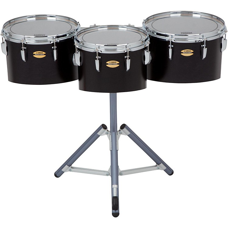 Yamaha 8300 Series Field-Corp Series Marching Tenor Trio 12, 13 and 14 in. Black Forest