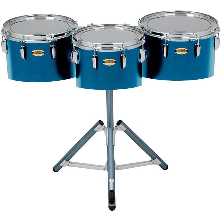 Yamaha8300 Series Field-Corp Series Marching Tenor Trio12, 13 and 14 in.Blue Forest