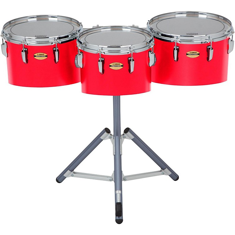 Yamaha 8300 Series Field-Corp Series Marching Tenor Trio 12, 13 and 14 in. Red Forest