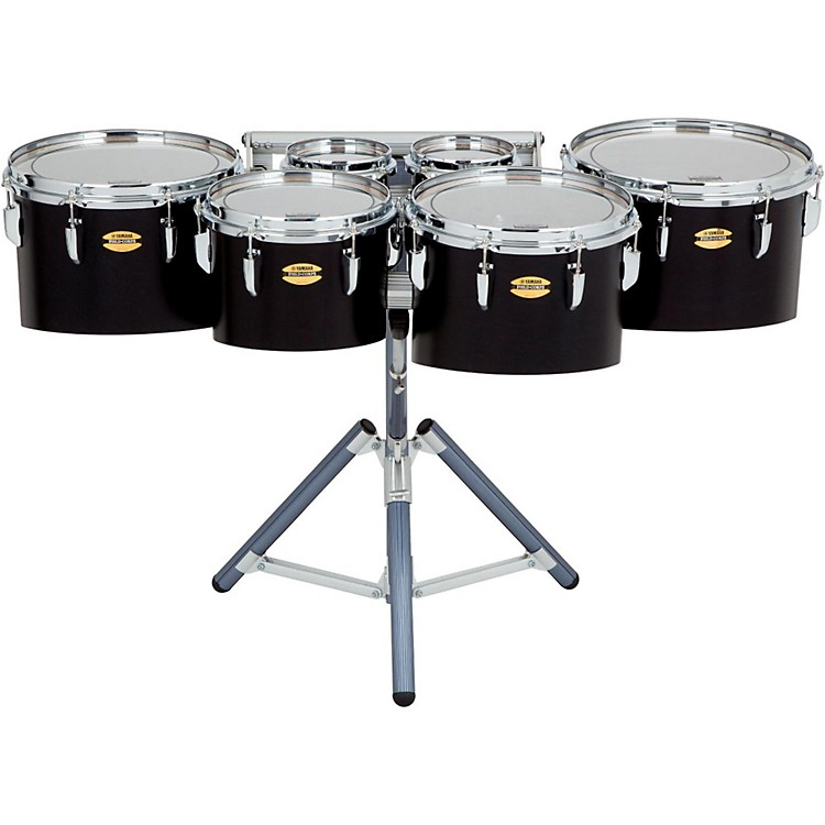 Yamaha 8300 Series Field-Corps Marching Sextet 6, 6, 10, 12, 13, 14 in. Black Forest