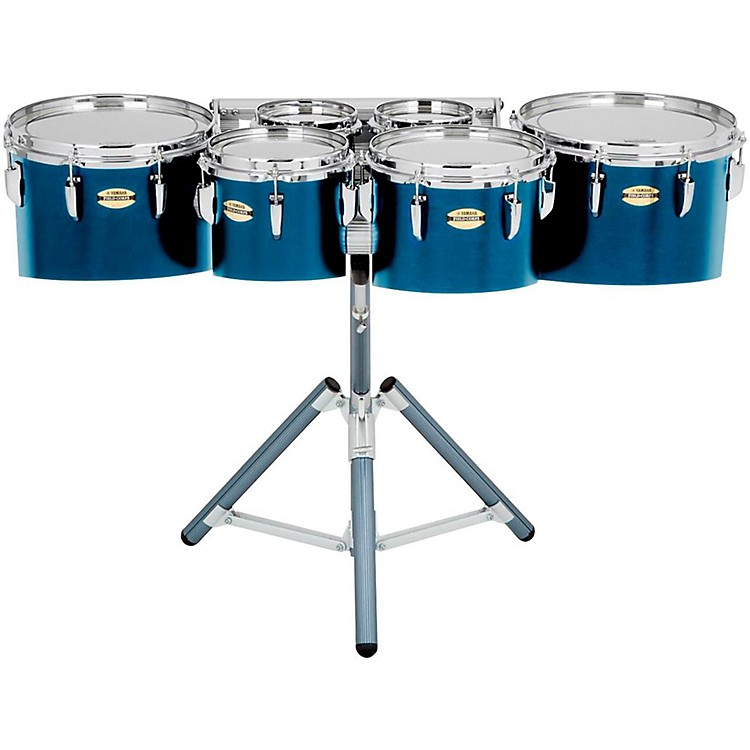 Yamaha 8300 Series Field-Corps Marching Sextet 6, 6, 10, 12, 13, 14 in. Blue Forest