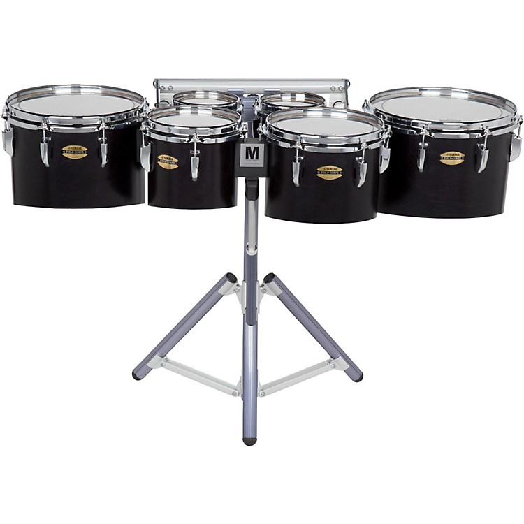 Yamaha 8300 Series Field-Corps Marching Sextet 6, 6, 8, 10, 12, 13 in. Black Forest