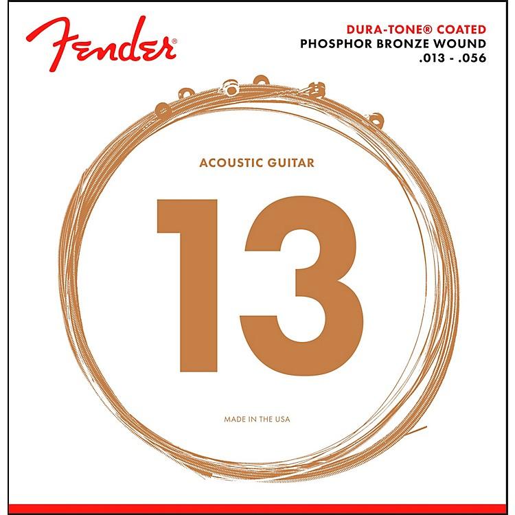 Fender860M Phosphor Bronze Dura-Tone Coated Acoustic Guitar Strings 13-56
