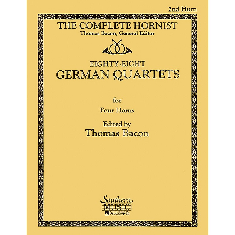Southern88 German Quartets (Horn Quartet - Horn 2) Southern Music Series Softcover Arranged by Thomas Bacon