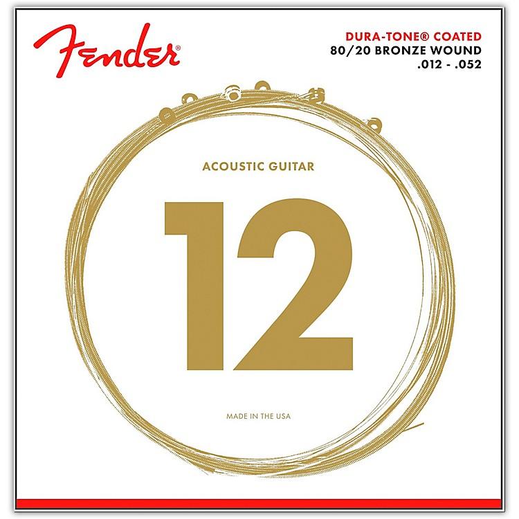 Fender880L Coated 80/20 Bronze Acoustic Guitar Strings - Light