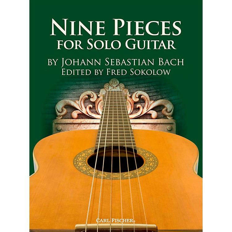 Carl Fischer9 Bach Solos for Guitar