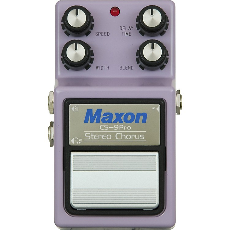 Maxon9-Series CS-9 Stereo Chorus Pro Pedal