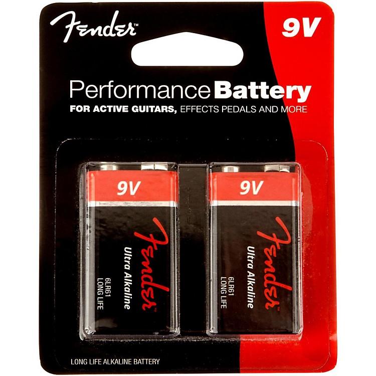 Fender9 Volt Battery 2 Pack