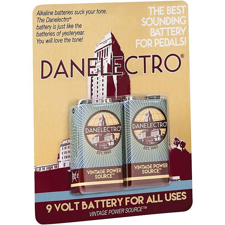 Danelectro9-Volt Vintage Style Batteries 2-Pack