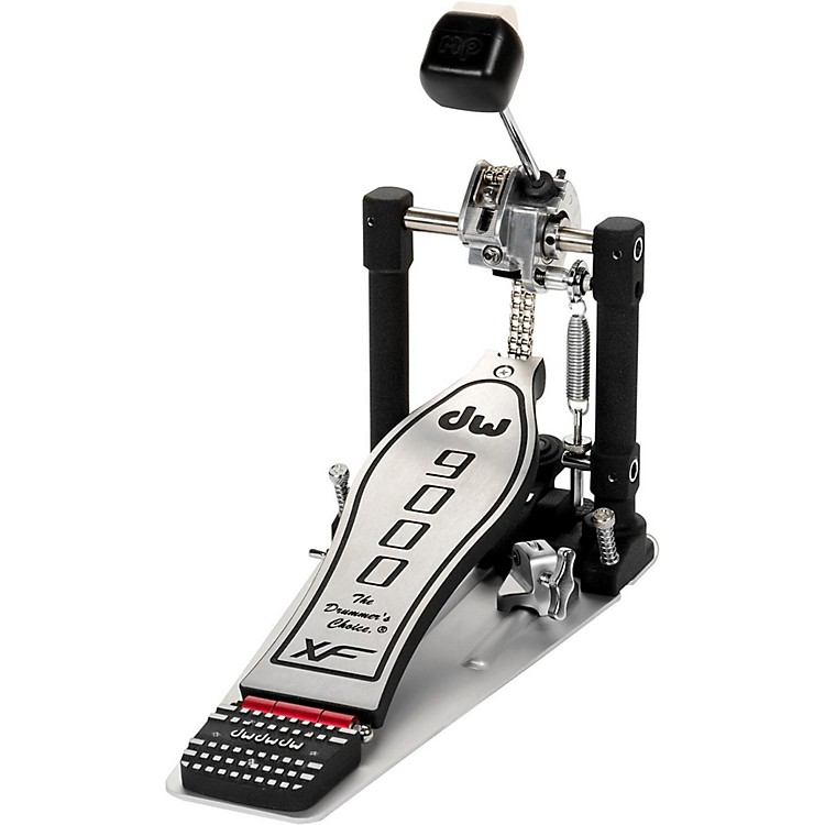 DW 9000 Series Single Bass Drum Pedal with eXtended Footboard
