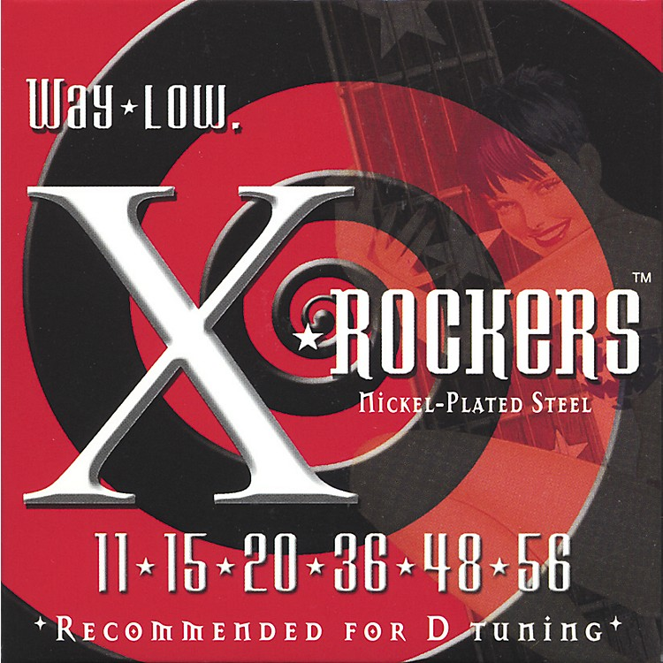 Everly9111 X Rockers Lo Tune Drop D Guitar Strings