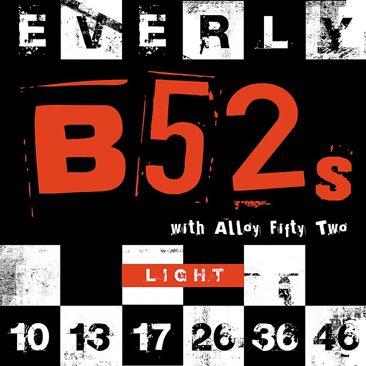 Everly9210 B-52 Rockers Alloy Light Electric Guitar Strings