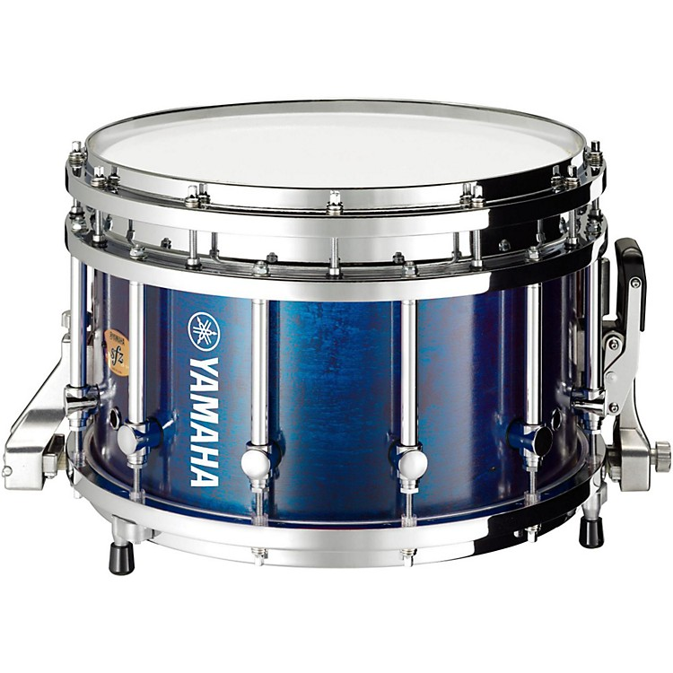 Yamaha 9300 Series Piccolo SFZ Marching Snare Drum 14 x 9 in. Blue Forest with Chrome Hardware