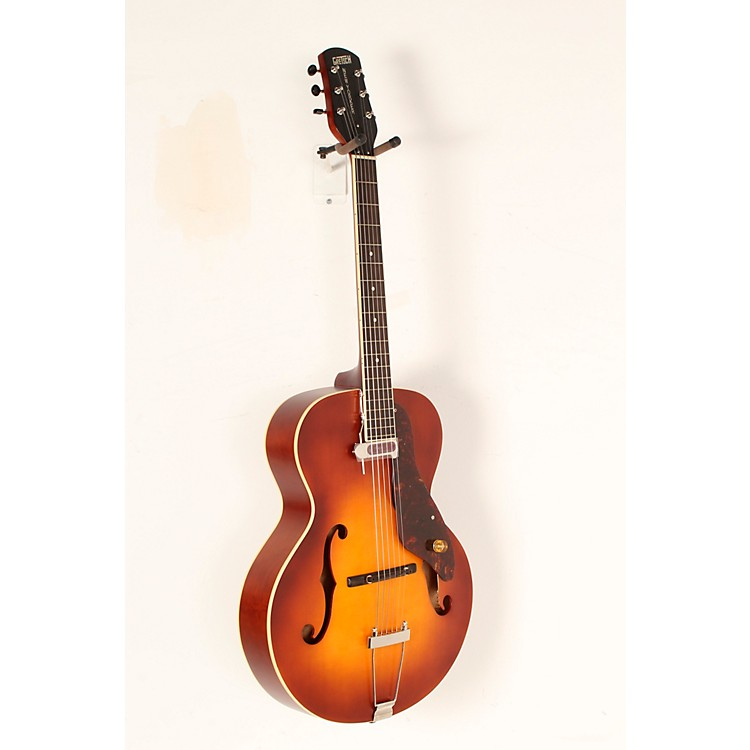 gretsch guitars 9555 new yorker archtop acoustic electric guitar music123. Black Bedroom Furniture Sets. Home Design Ideas