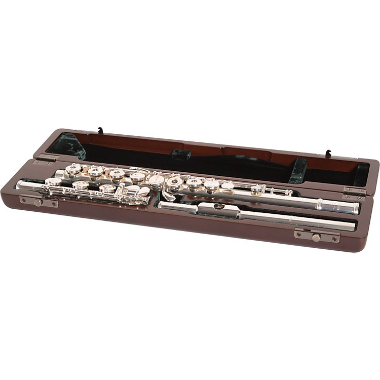 Pearl Flutes 9701 Maesta Pristine Series Professional Flute Offset G, Split E, B Foot Calore Headjoint