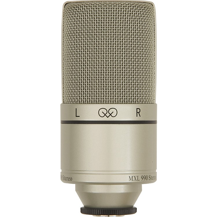 MXL990 Large Diaphragm Stereo Condenser Mic