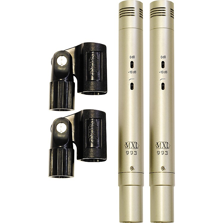MXL993 Condenser Microphones Stereo Pair