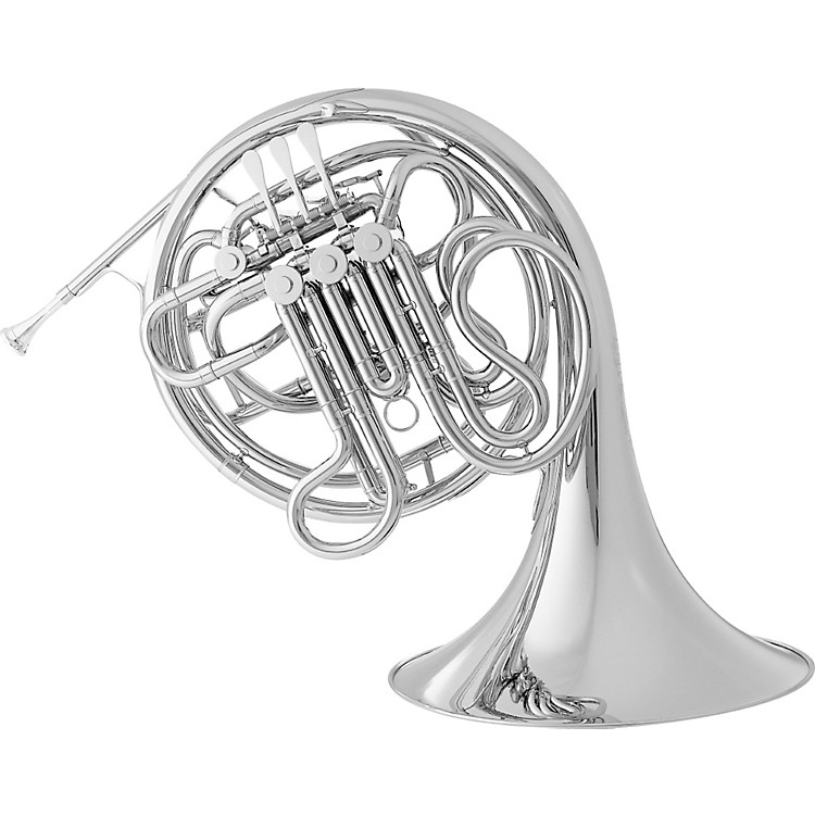 Conn9D CONNstellation Series Fixed Bell Double HornNickel SilverFixed Nickel Silver Bell