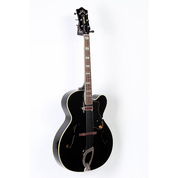 GuildA-150 Savoy Hollowbody Archtop Electric GuitarBlack888365680514
