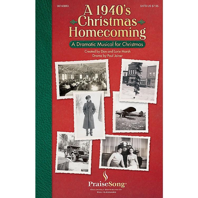 PraiseSongA 1940s Christmas Homecoming (Drama by Paul Joiner Tenor/Bass) CD 10-PAK Arranged by Don Marsh