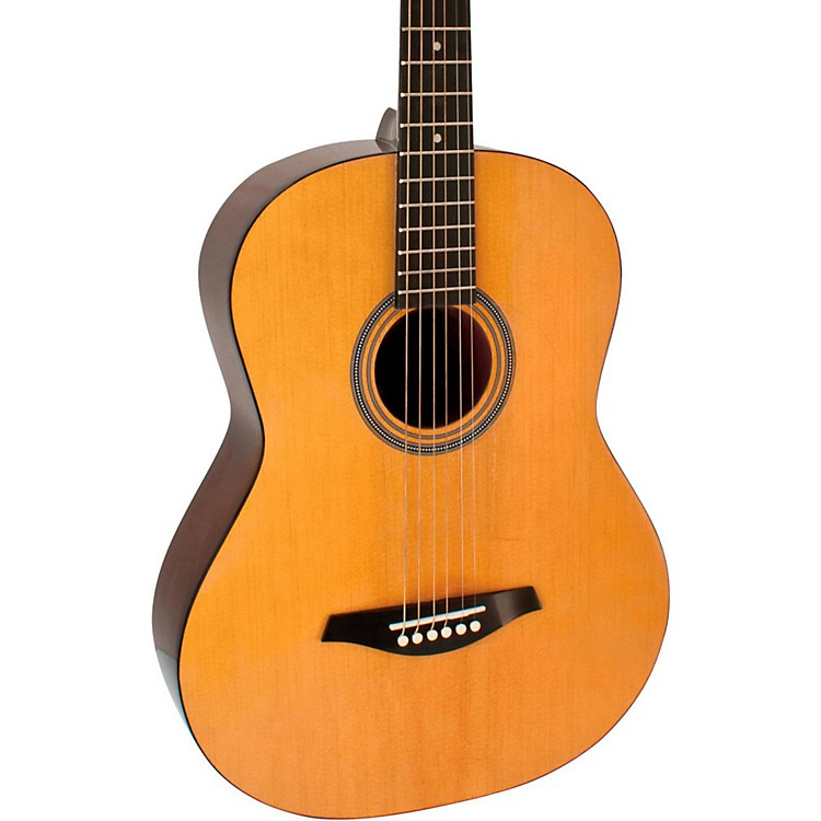 hohner a 7 8 size steel string acoustic guitar music123. Black Bedroom Furniture Sets. Home Design Ideas