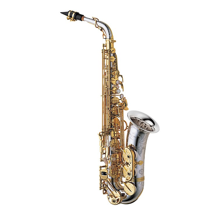 YanagisawaA-9937 Silver Series Profesional Alto SaxophoneAll Silver