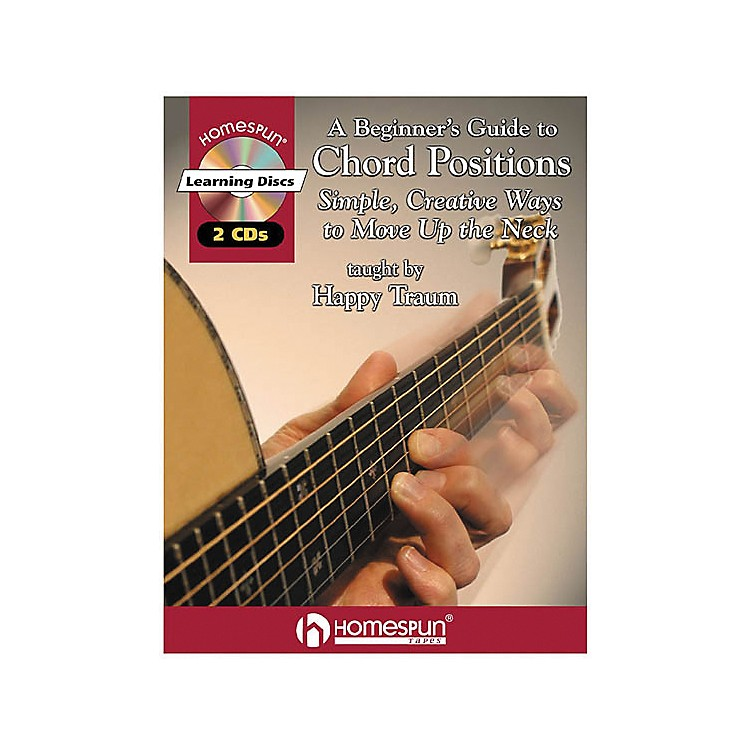 HomespunA Beginner's Guide to Chord Positions (Book/CD)